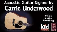 Guitars Signed by Nashville&#39;s Biggest Music Stars <br/>Selling to Benefit CrossBRIDGE Inc. and KidPOWER of Nashville, TN