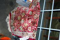 Red Floral Rug
