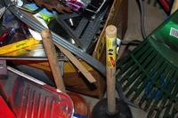 Plungers, Nails, Tools and Other Assorted Supplies