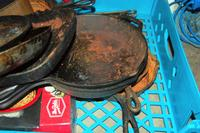 Cast Iron Pans and Cookware