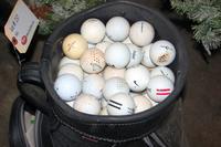 Golfballs and Bag