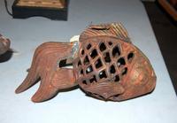 Cast Iron Fish Lantern
