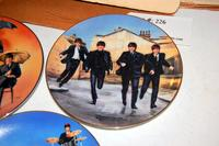 3 The Beatles Limited Edition Decorative Plates