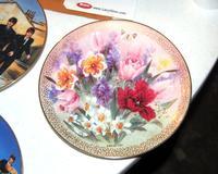 Tulip Ensemble by Lena Liu Decorative Plate