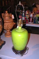 Green Ceramic Lamp