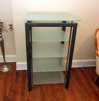 Metal and Glass Shelf by Bush Industries