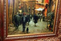 Framed Giclee Print on Canvas
