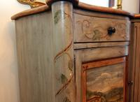 Hand Painted Sideboard by Drexel Heritage