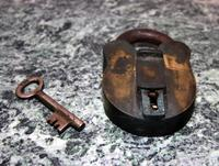 Antique Lock and Key