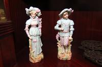 Woman and Man Figurine