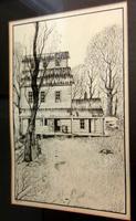 """Readyville Mill"", Harvey Kellog Framed and Numbered Print"