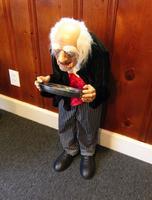 Old Butler Halloween Decoration