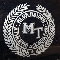 Middle Tennessee State University Blue Raider Athletic Association Sign