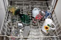 Assorted Glassware and Untensils
