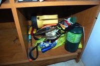 Flashlight and Tools