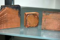 Copper Printing Plates Including Designs of Bliss College