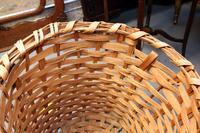 Large Antique Hand Woven Basket