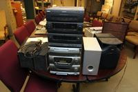 RCA 3 Disc Stereo and an Emerson 3 Disc Stero