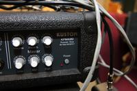 JBL TR125 Speaker Cabinets and a Kustom KPM4080 Powered Mixer