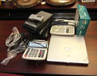 Dell Laptop, Printing Calculators, and Cassesset Players
