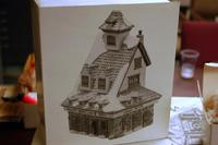 7 Pieces of Heritage Village Collection from the North Pole Series
