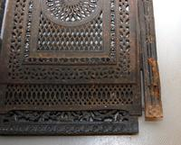 Antique Cast Iron Fireplace Cover