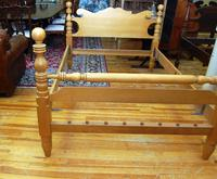 Antique Cannonball Rope Bed