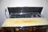 Everest Refrigeration EPR2 Sandwich Prep Station