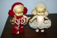 2 Antique Kewpie Dolls