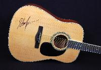 Acoustic Guitar Signed by Shania Twain