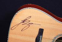 Acoustic Guitar Signed by Luke Bryan