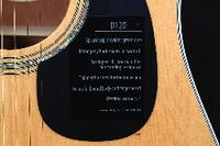 Acoustic Guitar Signed by Keith Urban