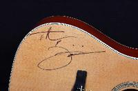Acoustic Guitar Signed by Tim McGraw & Faith Hill