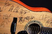 """Nashville Community"" Acoustic Guitar Signed by 14 Music Acts including: Chris Janson, Keith Urban, Maren Morris, Lo Cash, Dan and Shay, Kid Rock, Granger Smith, Luke Combs, Kip Moore, Luke Bryan, Kelsea Ballerina, Kenny Chesney, Lee Brice, Cole Swindell"